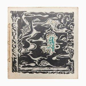 Wendingen, numero 6, copertina di Jaap Gidding, 1921
