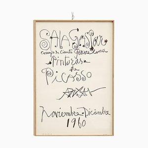 Picasso Lithografie, 1960er