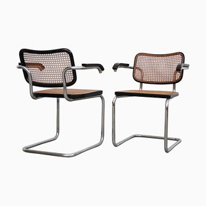 B64 Cesca Chairs by Marcel Breuer for Gavina, 1960s, Set of 2