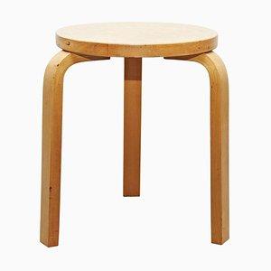 Mid-Century Holzhocker von Alvar Aalto für Artek, 1960er