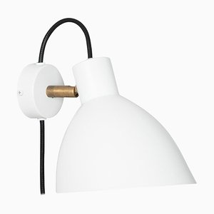 KH#1 White Wall Lamp by Sabina Grubbeson for Konsthantverk