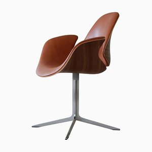 Kt 8013 Leather Council Chair by Salto and Thomas Sigsgaard