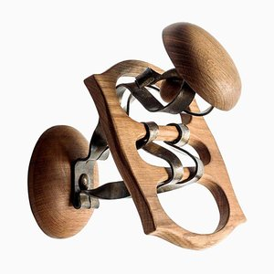Appendiabiti Calvet in legno e metallo di Antoni Gaudì