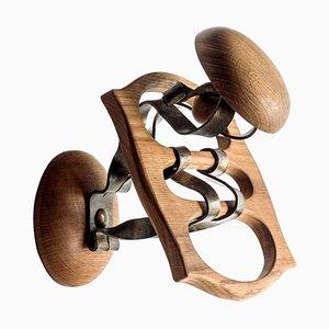 Wood and Metal Calvet Hanger by Antoni Gaudi