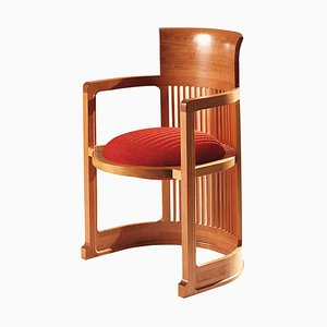 Chaise Barrel par Frank Lloyd Wright pour Cassina