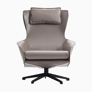 Cab Sessel aus Stahlrohr und Leder von Mario Bellini für Cassina