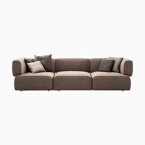 Bowy Sofa aus Schaumstoff und Stoff von Patricia Urquiola für Cassina