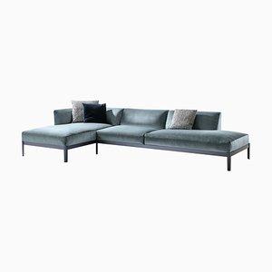 Cotone Sofa aus Aluminium und Stoff von Ronan & Erwan Bourroullec für Cassina