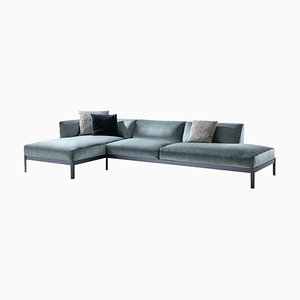 Cotone Sofa in Aluminum and Fabric by Ronan & Erwan Bourroullec for Cassina