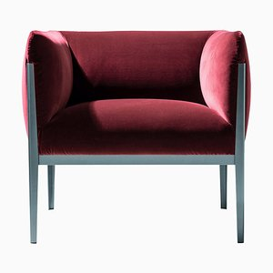 Cotone Armchair in Aluminum and Fabric by Ronan & Erwan Bourroullec for Cassina