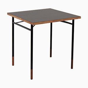 Nyhavn Desk Wood Black Lino by Finn Juhl