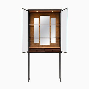 Cabinet Biri C04 Limited Edition Ristretto / Fabric / Glass by Peter Ghyczy