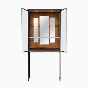 Schrank Biri C04 Limited Edition Ristretto / Stoff / Glas von Peter Ghyczy