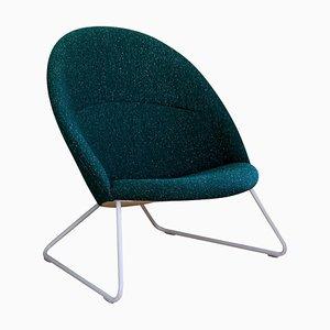 Green Dennie Chair by Nanna Ditzel & Jørgen Ditzel for One Collection