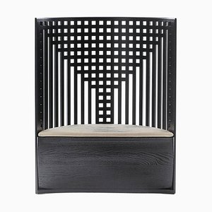 312 Willow Trone-Armchair by Charles Rennie Mackintosh for Cassina
