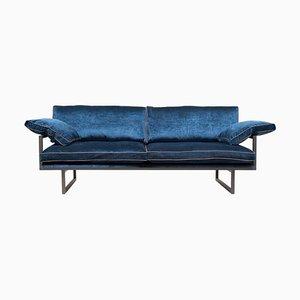 Urban Brad Gp01 Sofa in Ristretto & Königsblau von Peter Ghyczy