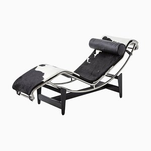 Lc4 Chaise Lounge by Le Corbusier, Pierre Jeanneret & Charlotte Perriand for Cassina