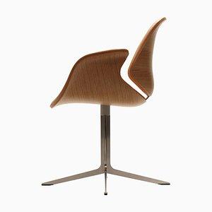 Kt 8013 Leder Beistellstuhl von Salto und Thomas Sigsgaard für One Collection