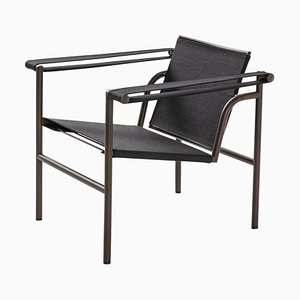Lc1 Chair Outdoor Collection by Le Corbusier, P. Jeanneret & Charlotte Perriand for Cassina