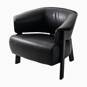 Back-Wing Armchair in Wood, Foam and Leather by Patricia Urquiola for Cassina