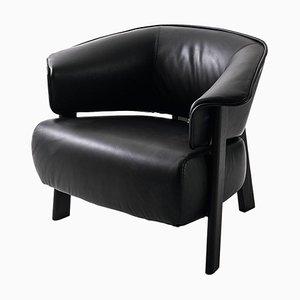 Back-Wing Sessel aus Holz, Schaumstoff und Leder von Patricia Urquiola für Cassina