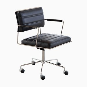 Ht 2014 Brown Leather Time Chair by Henrik Tengler for One Collection