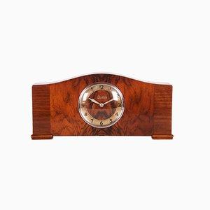 Art Déco Kamin Uhr von Junghans, 1930er