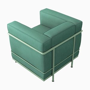 Silla modelo Lc2 Poltrona de Le Corbusier, Pierre Jeanneret & Charlotte Perriand para Cassina