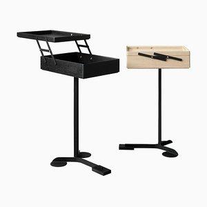 Comodo Wood Cabinets by Achille Castiglioni and Giancarlo Pozzi, Set of 2