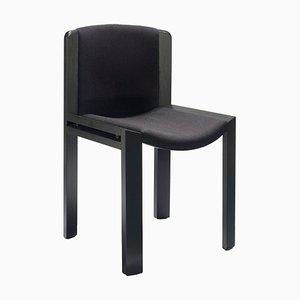 Chair 300 aus Holz und Kvadrat Stoff von Joe Colombo