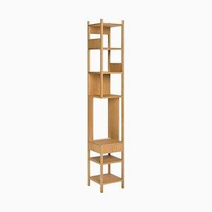 Estantería Lungangolo de madera de Achille Castiglioni