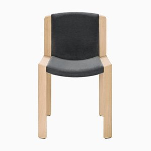 Chair 300 in Wood and Kvadrat Fabric by Joe Colombo