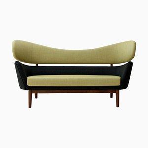 Baker Sofa aus Holz und Stoff von Finn Juhl
