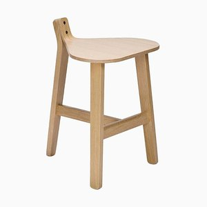 Bronco Wood Stool by Guillaume Delvigne
