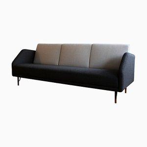 3-Sitzer 77 Sofa Sofa aus Holz und Stoff von Finn Juhl