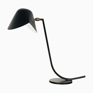 Black Antony Table Lamp by Serge Mouille