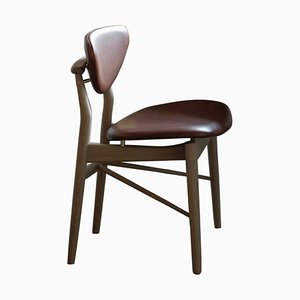108 Chair in Wood and Fabric by Finn Juhl