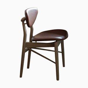 108 Stuhl aus Holz und Stoff von Finn Juhl