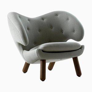 Vidar Pelican Stuhl aus Nussholz von Finn Juhl