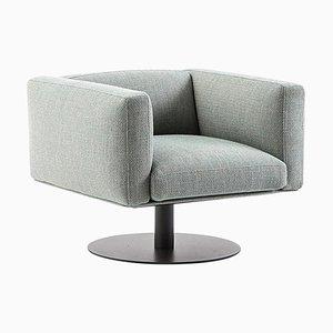 8 Cube Sessel mit Drehgestell von Piero Lissoni für Cassina