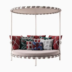 Trampoline Outdoor Sofa in Steel, Rope & Fabric by Patricia Urquiola for Cassina