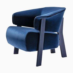 Back-Wing Sessel aus Holz, Schaumstoff & Stoff von Patricia Urquiola für Cassina