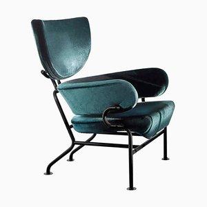 3-teiliger Armlehnstuhl von Franco Albini für Cassina