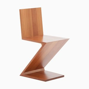 Zig Zag Chair by Gerrit Thomas Rietveld for Cassina