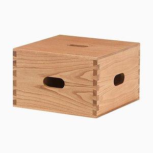 Sgabello LC14 Cabanon in legno di Le Corbusier per Cassina