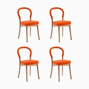 Asplund 501 Gothenburg Chair by Erik Gunnar for Cassina, Set of 4