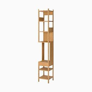 Lungangolo Wood Shelving Unit by Achille Castiglioni for Bernini