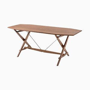 Stand Table in Wood by Franco Albini for Cassina