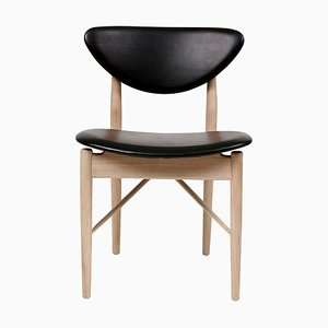 108 Chair in Wood and Leather by Finn Juhl
