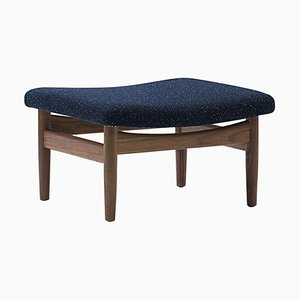 Japan Series Stool in Wood and Fabric by Finn Juhl